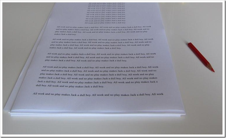 Consejos a la hora de revisar el manuscrito