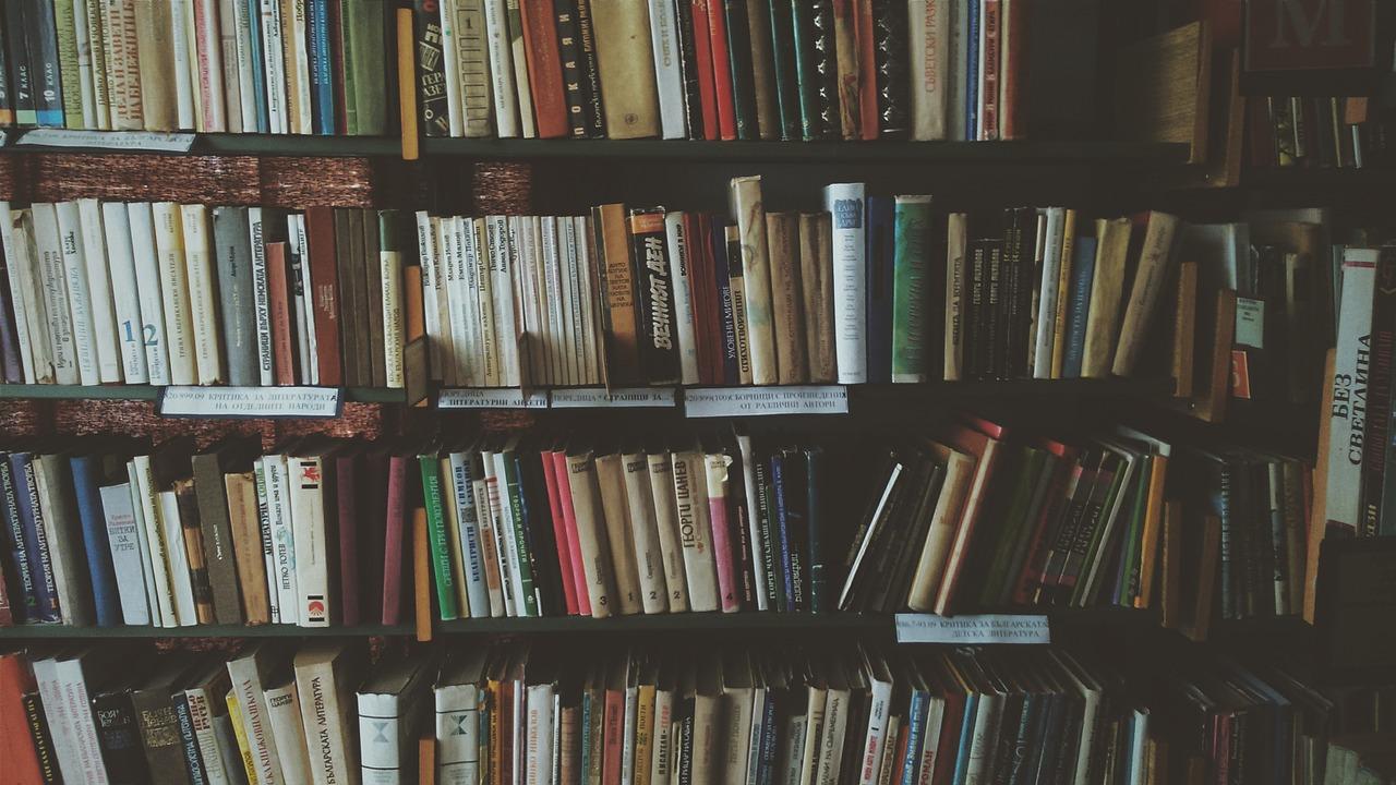 Cmo deberas colocar los libros en la estantera de tu casa