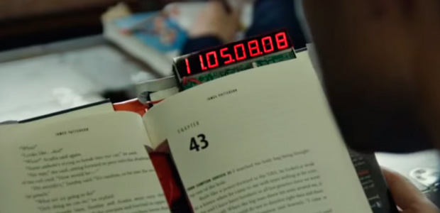 La última novela de James Patterson se autodestruye en 24 horas