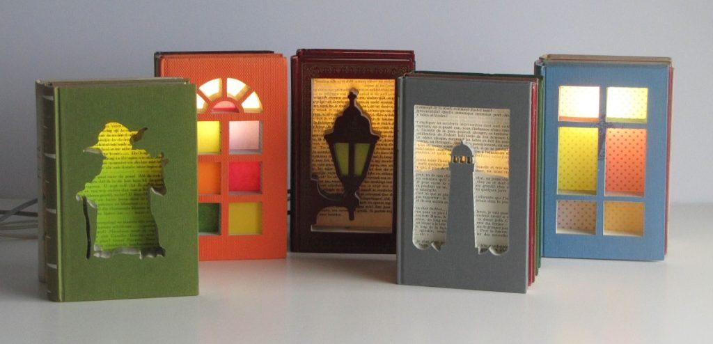 Libros como decoraci n una forma distinta de reciclar libros for Libros de decoracion