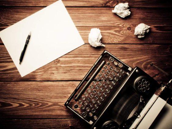 Concursos literarios y máquinas de escribir