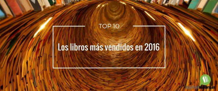 Portada de los libros más vendidos en 2016