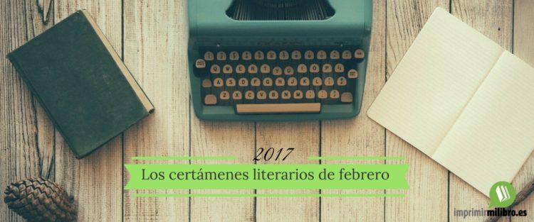 Portada del port Certámenes literarios de febrero