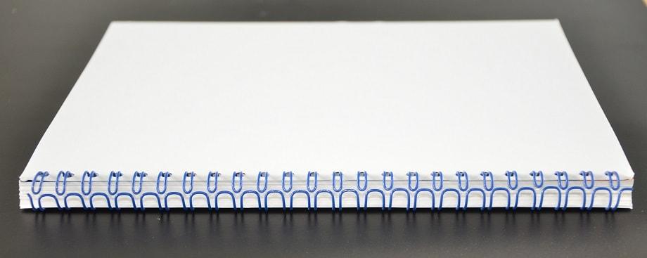 Tipos de encuadernaciones wire-o