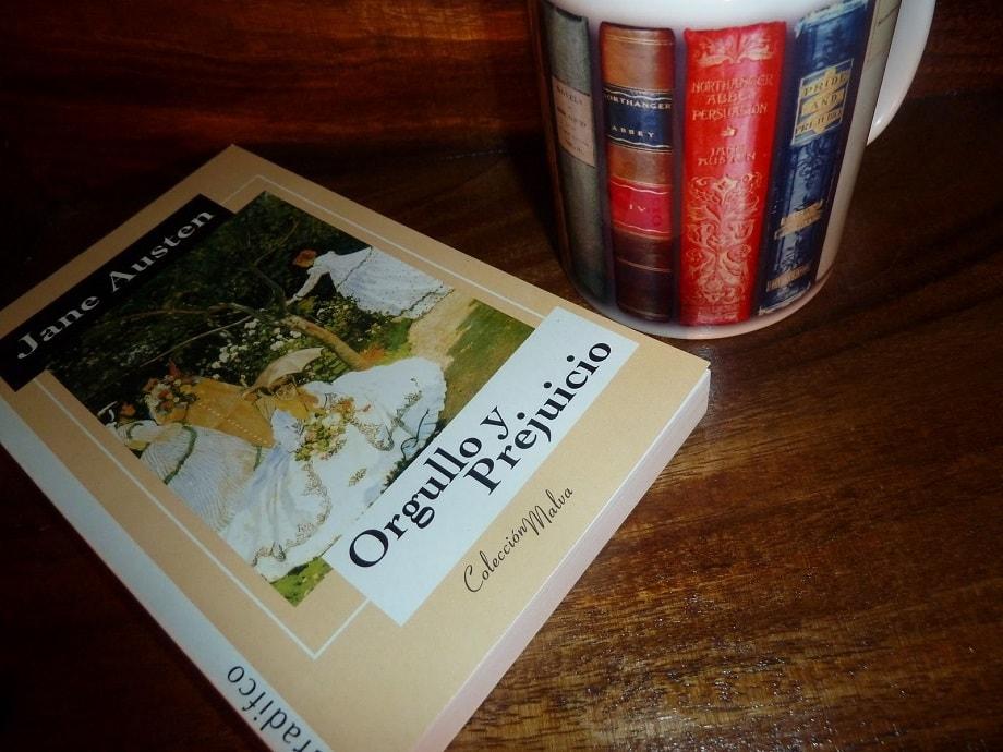 Libro Orgullo y Prejuicio, uno de los recomendados en San Valentín