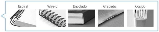Los distintos tipos de encuadernaciones