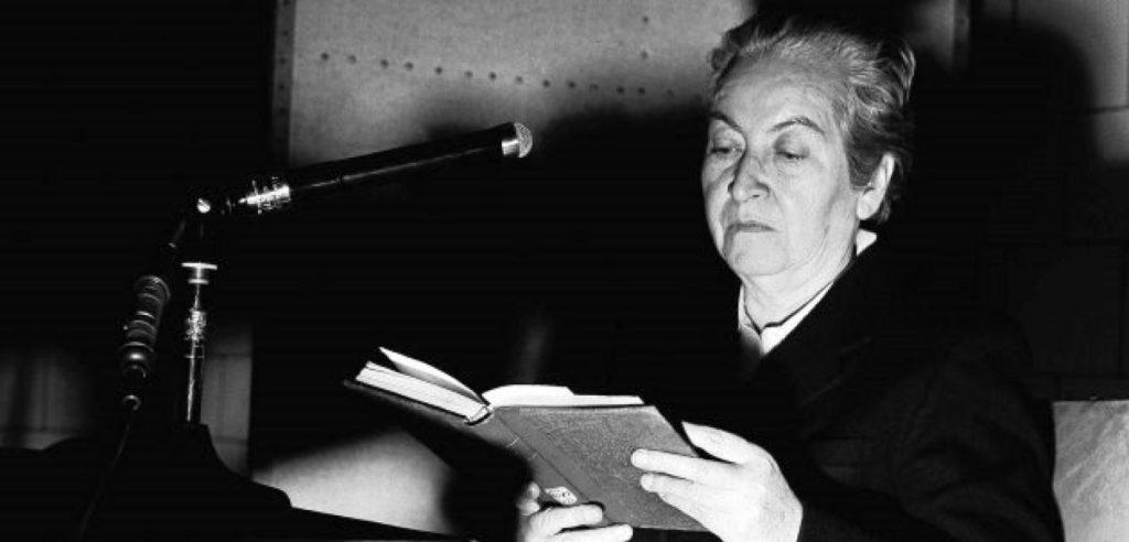 Gabriela Mistral una de las escritoras para el Día Internacional de la Mujer