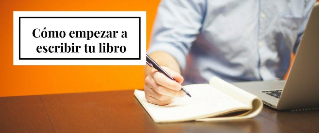 Portada del post cómo empezar a escribir