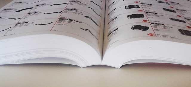 Libro con encuadernación cola pur